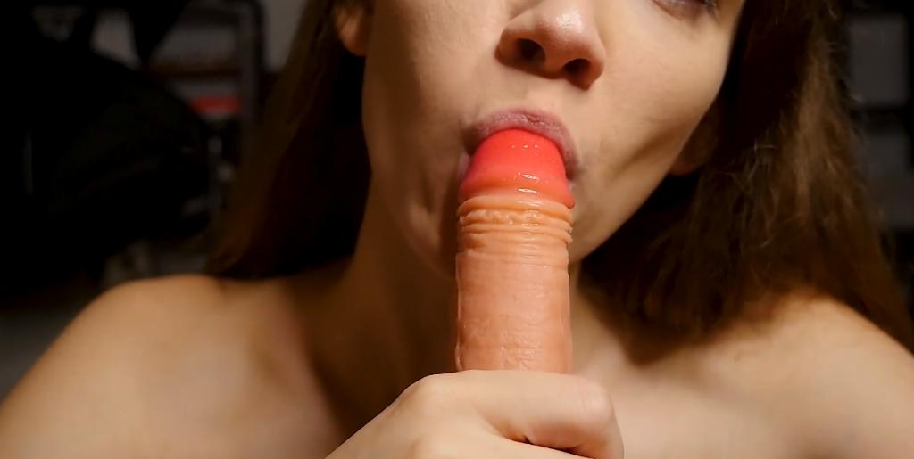 POV blowjob video
