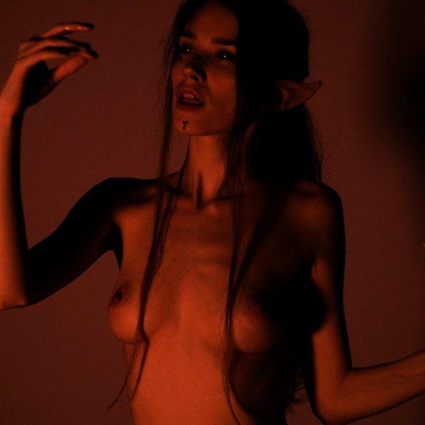 Dark Elf Porn with naked Bunny Marthy
