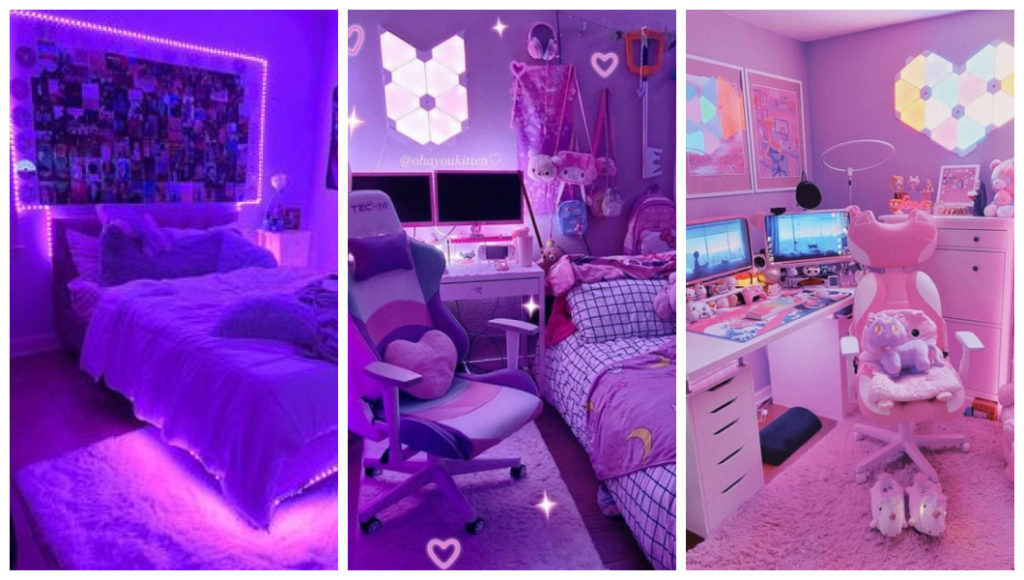 gamer girl porn aesthetic room